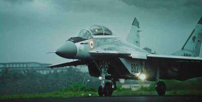 Indian Navy will use Russian Mig 29K for its naval aviation wing.