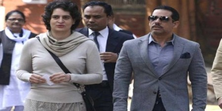 File Photo: Robert Vadra and Priyanka Gandhi Vadra.