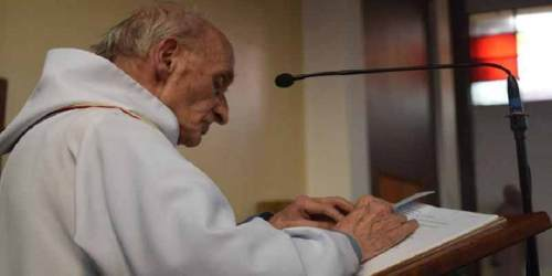 Father Jacques Hamel was giving morning Mass when the ISIS linked terrorists attacked his church.