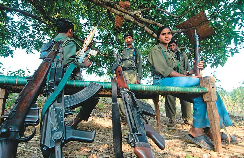 File photo of Naxals in Indian hinterland. (Web Extract).