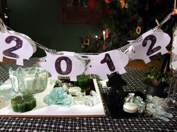 silvester tischdeko selber machen - Silvester Deko Selber Machen
