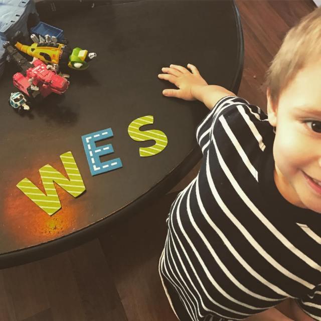 Wes my sweet littleguy