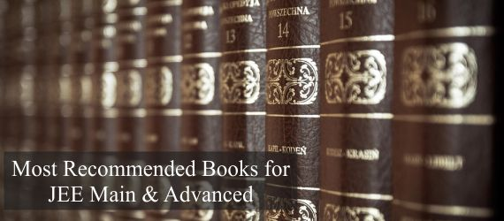 Most Recommended Books for JEE Main & Advanced