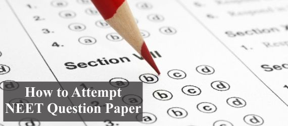 How to Attempt NEET Question Paper