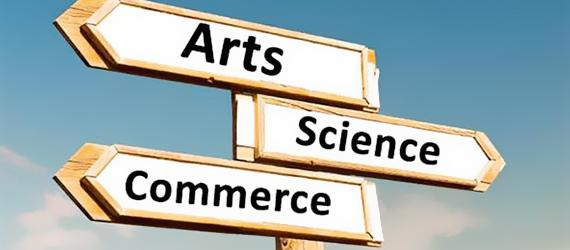 Science, Commerce or Arts ? What after Std 10 ?