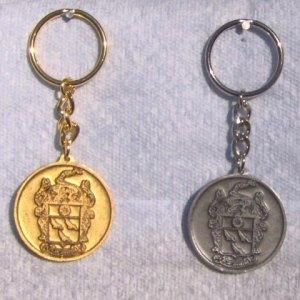 Meriwether Crest Keychain