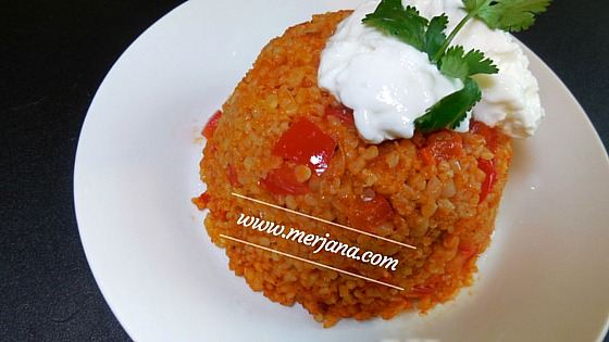 Turkish Bulgur Rice