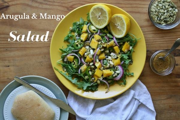 Arugula and Mango Salad