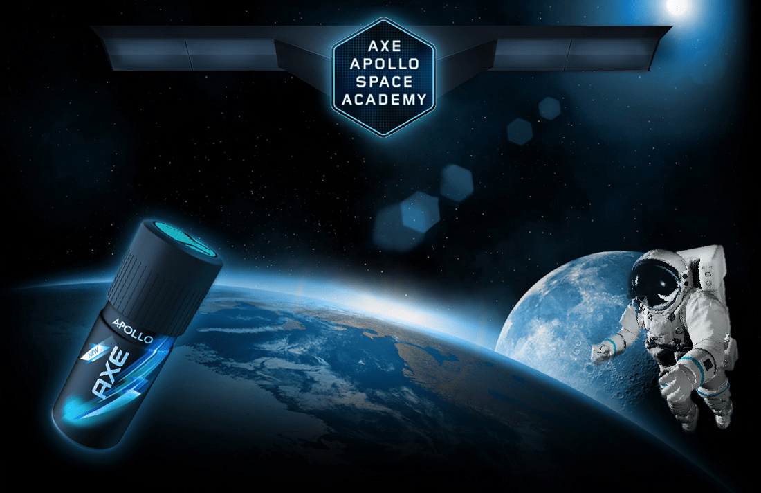 Axe Apollo Space Academy - CiberMarketing