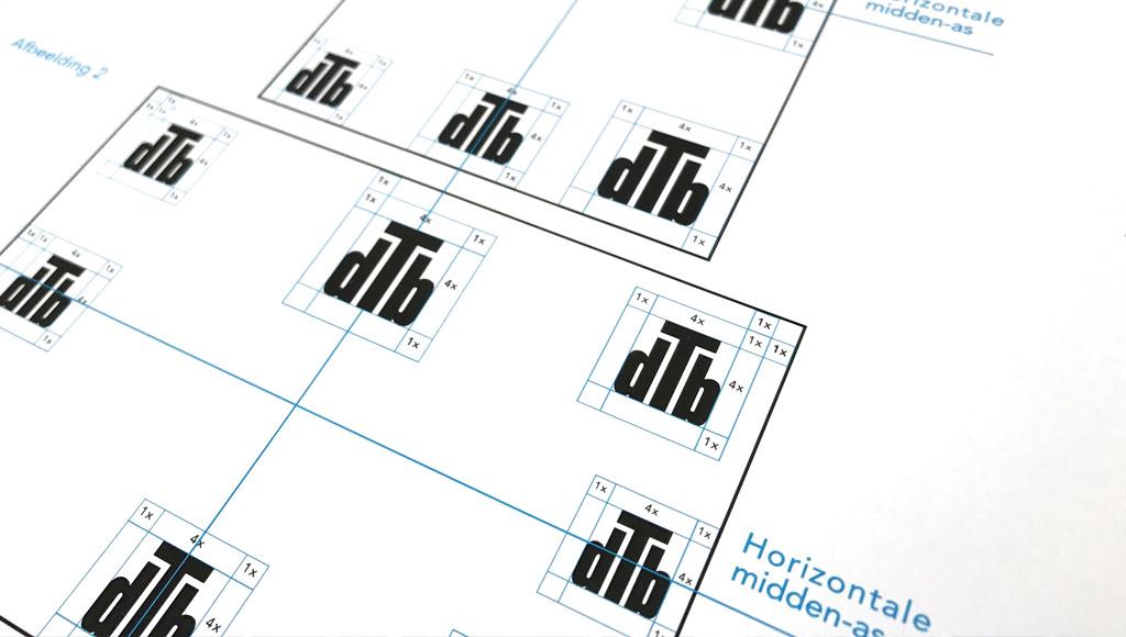 Je logo in een huisstijlhandboek