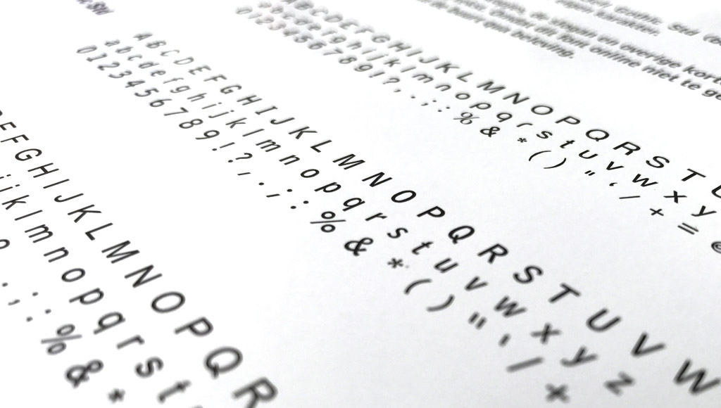 Typografie in een huisstijlhandboek