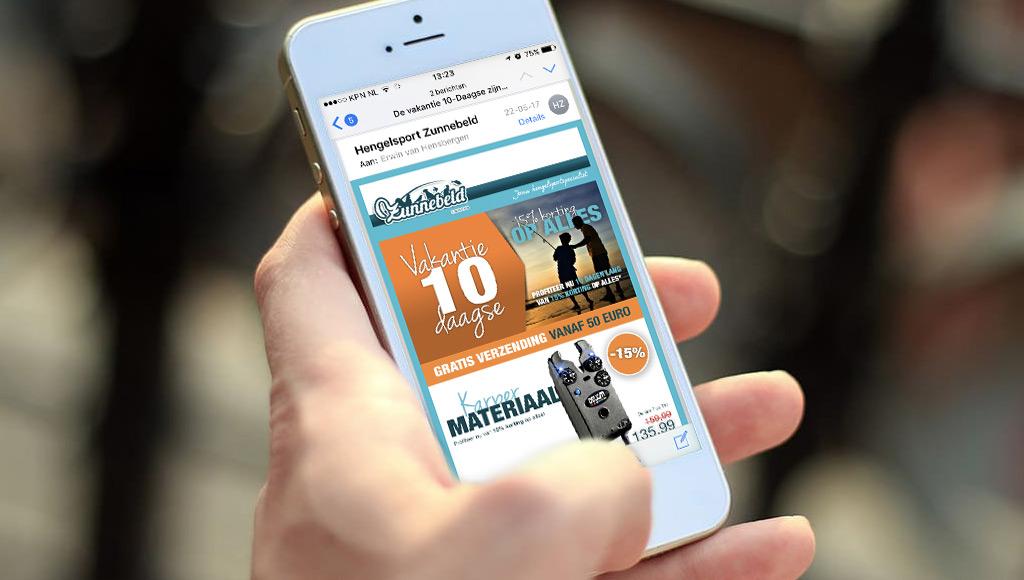Digitale nieuwsbrief Hengelsport Zunnebeld