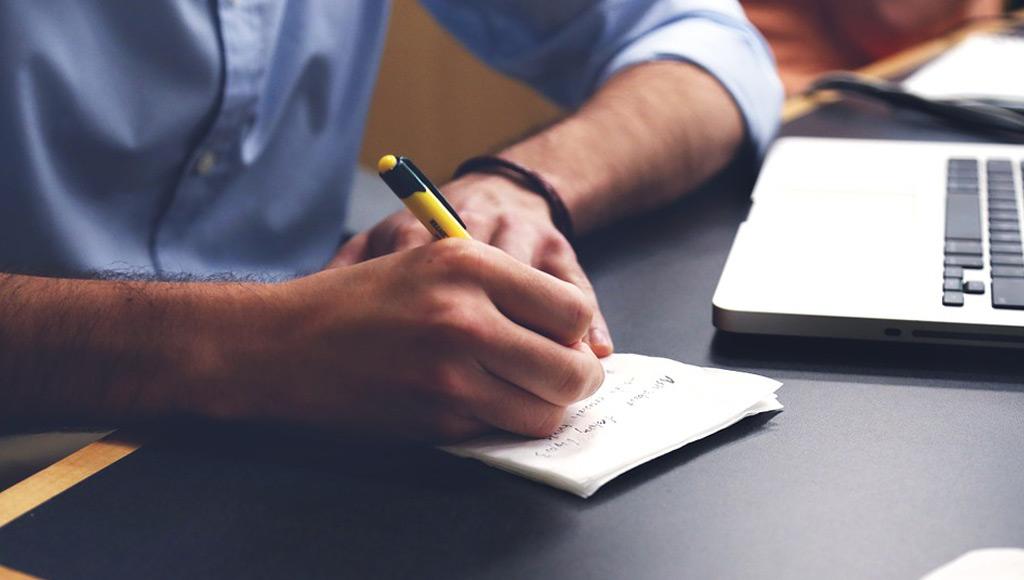 Aantekeningen maken voor je webdesign