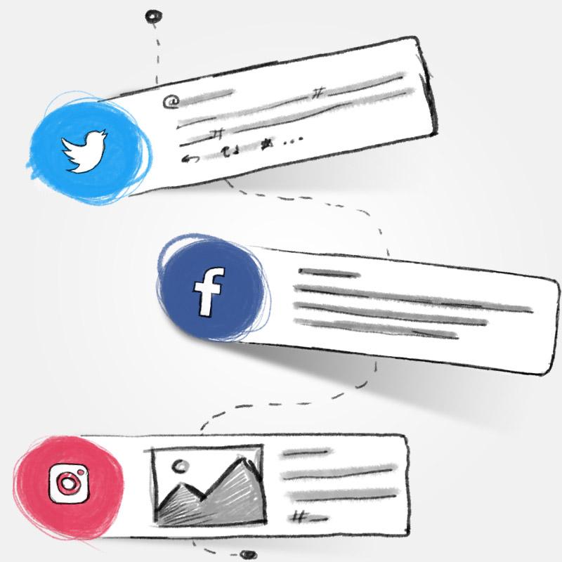 Social media onderhoud