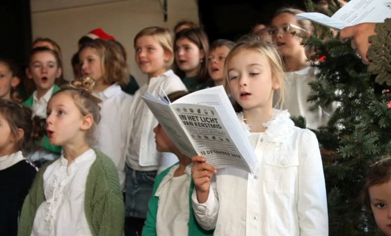 Kinderkoor Cantabile in de Chapeau