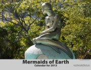 Mermaids of Earth Wall Calendar 2013 Cover