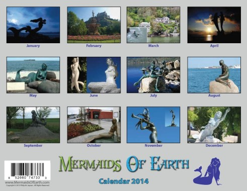 Mermaids of Earth Calendar 2014