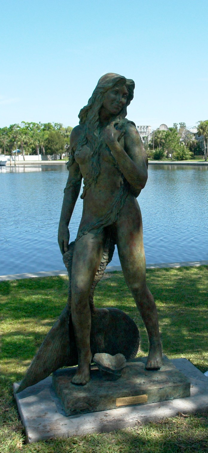 Ama Mermaid Statue