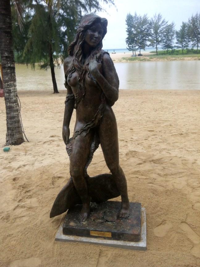 Ama Andaman Mermaid Sculpture