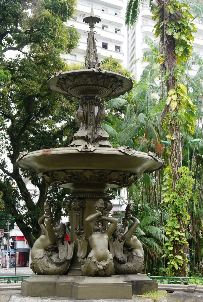 The Belém Mermaid Fountain.