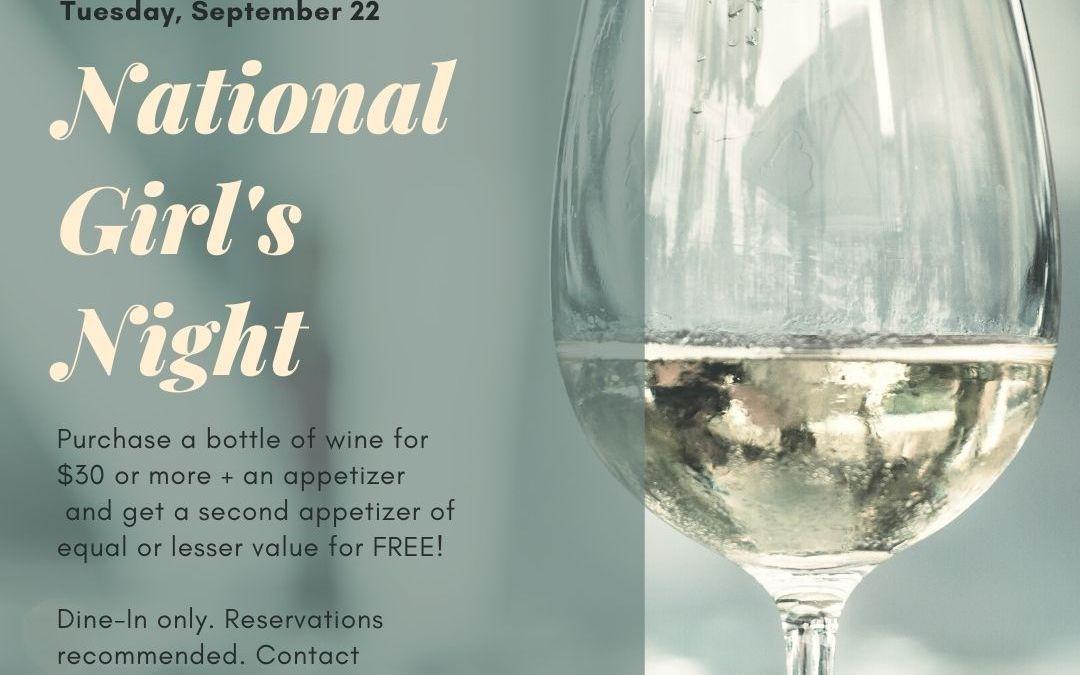 National Girl's Night!