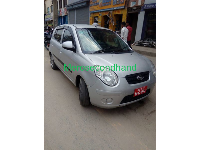 Secondhand Used Kia Santro Car On Sale At Kathmandu