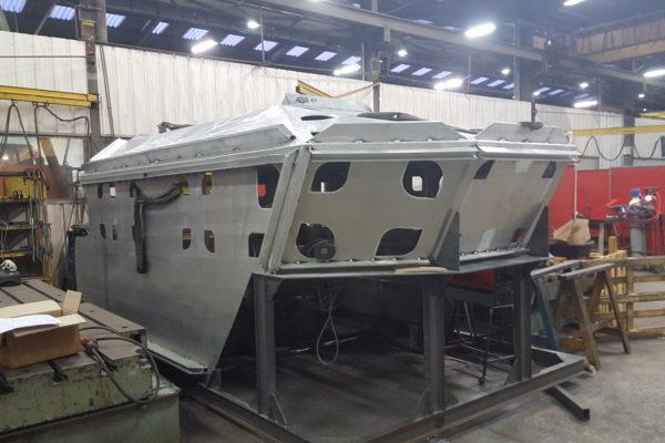 Construction d'une série de cinq pilotines SEEM 16-1000ST
