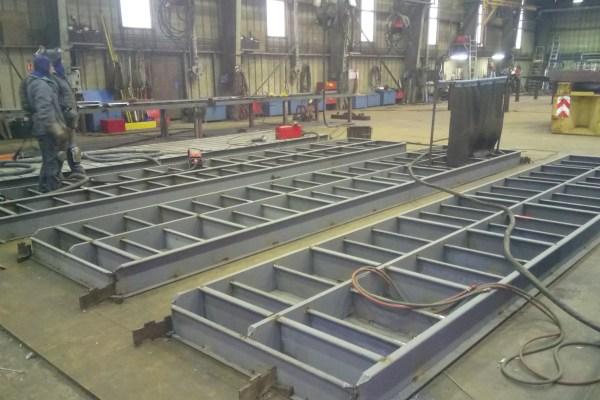 La construction du bac amphidrome SEEM 46-1250ST a débuté