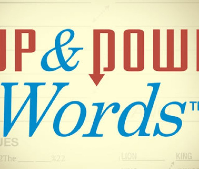 Up And Down Words