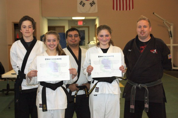 Merrill Karate Club students earn black belts - Merrill ...