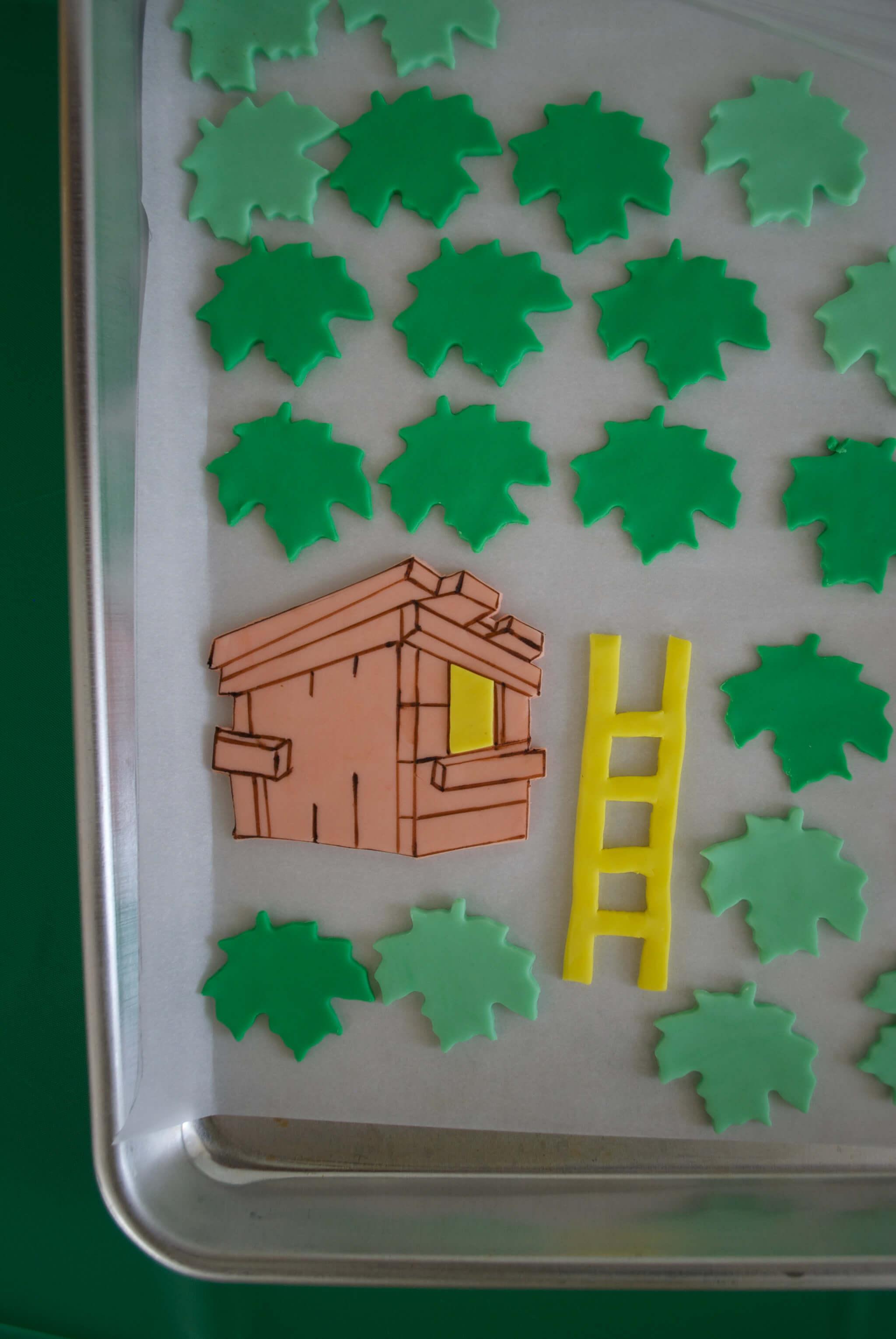 Easy Diy Magic Tree House Birthday Cake