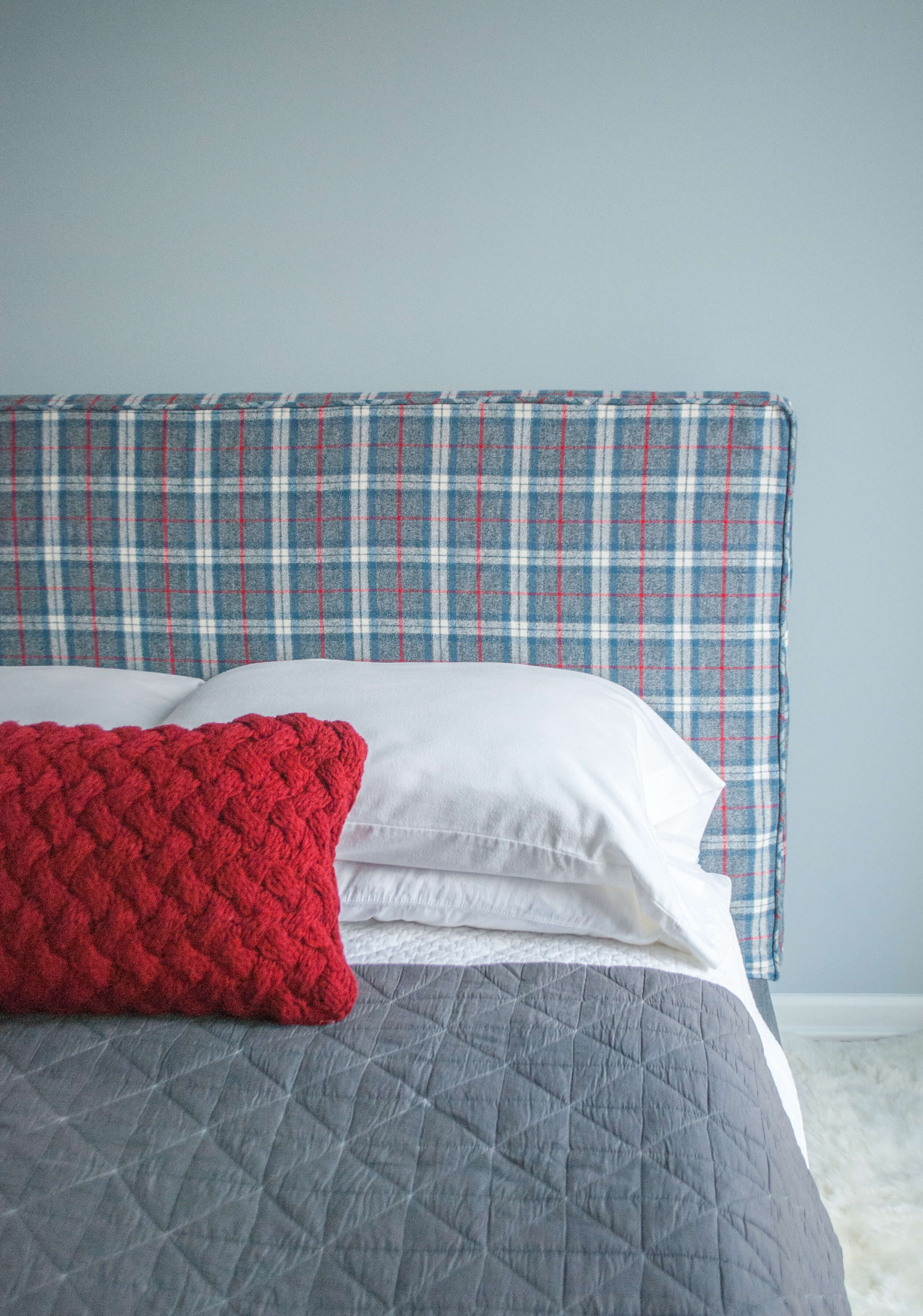 How To Make A Headboard Slipcover With No Sew Piping