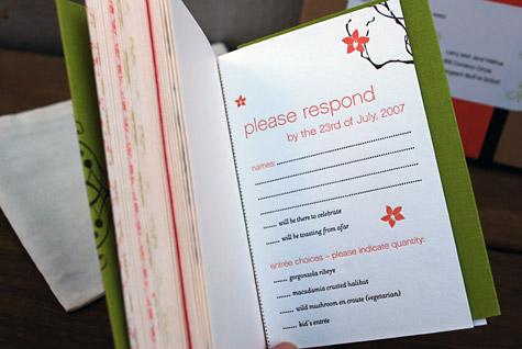 Booklet Wedding Invite Pport