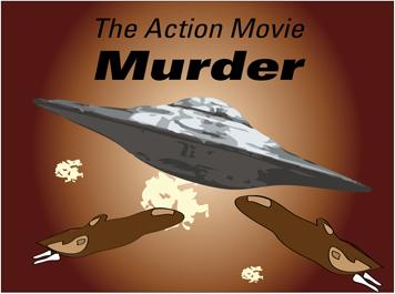Action Movie invitation image