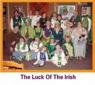 The Luck of the Irish is great for St Patricks Day