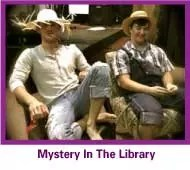 Mystery In The Library is fun for teens