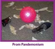 A Prom mystery party game