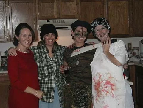 The murder party girls