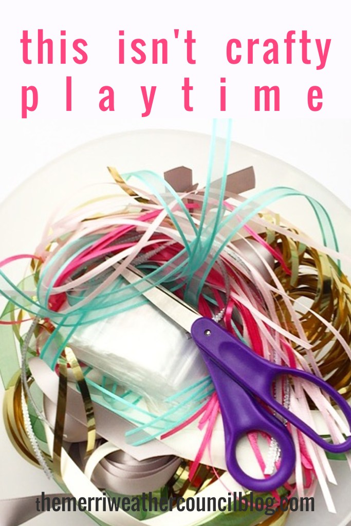 this isn't crafty playtime | the merriweather council blog