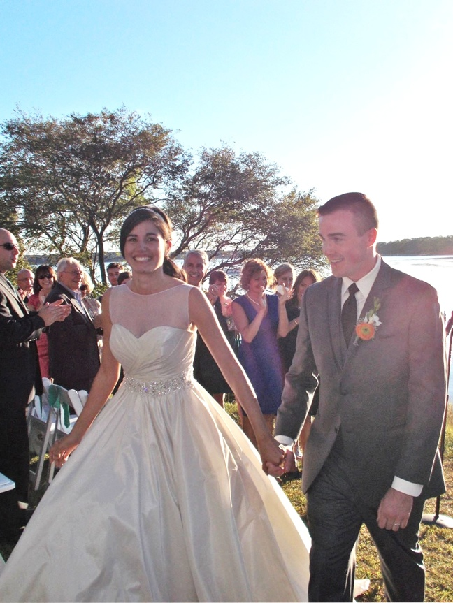 My Modified Allure Bridal Ball Gown Wedding Dress - themerriweather ...