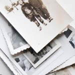 Working with Vintage Photos + Fabric