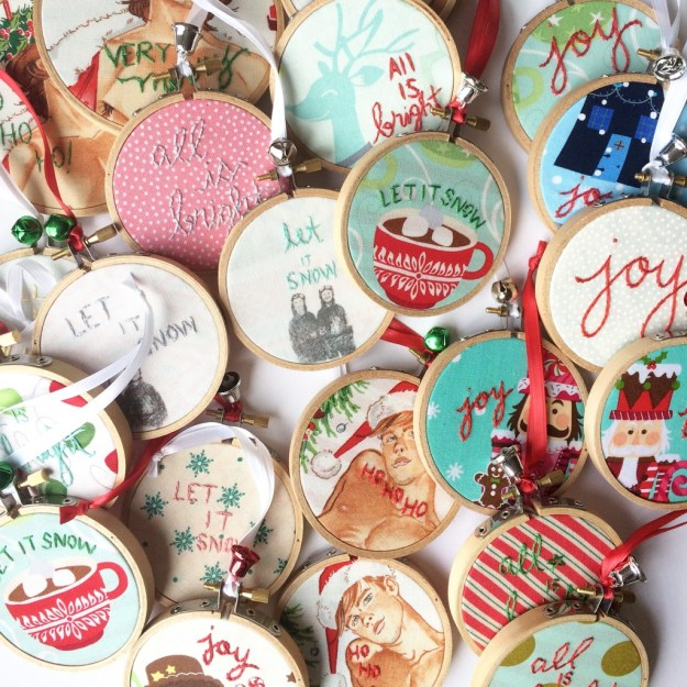 christmas ornaments | the merriweather council blog