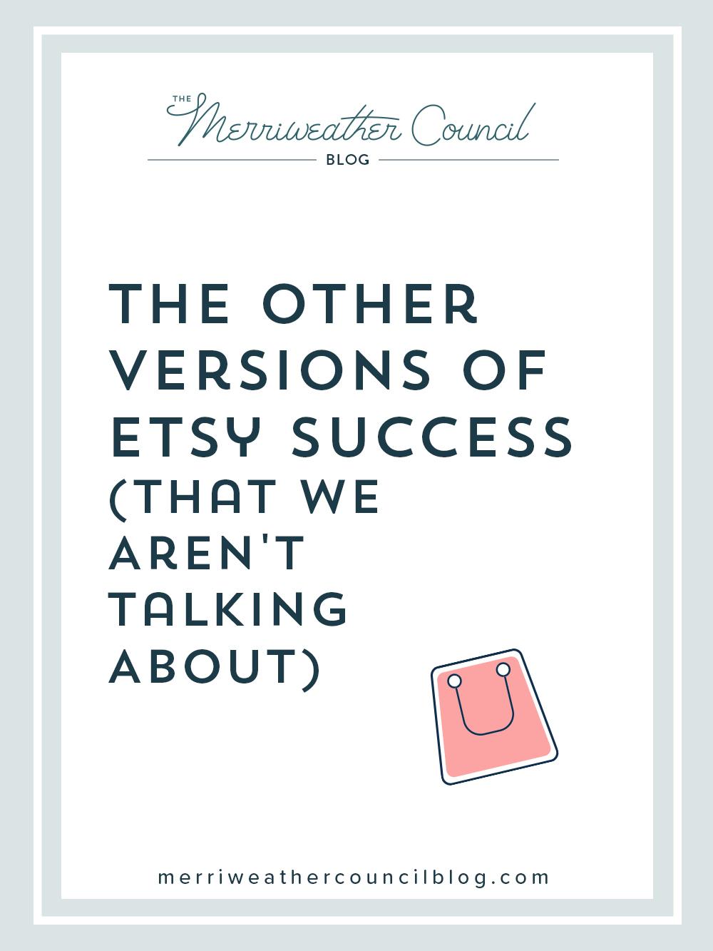 etsy success | the merriweather council blog