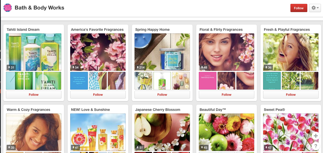 taking queues from big brands on pinterest | the merriweather council blog