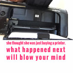 She Thought She Was Just Buying a Printer, What Happened Next Will Blow Your Mind