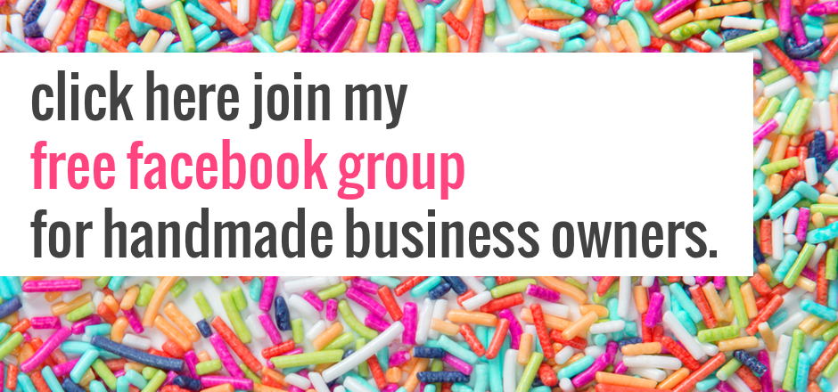 Join my free Facebook group for handmade business owners. | the merriweather council blog