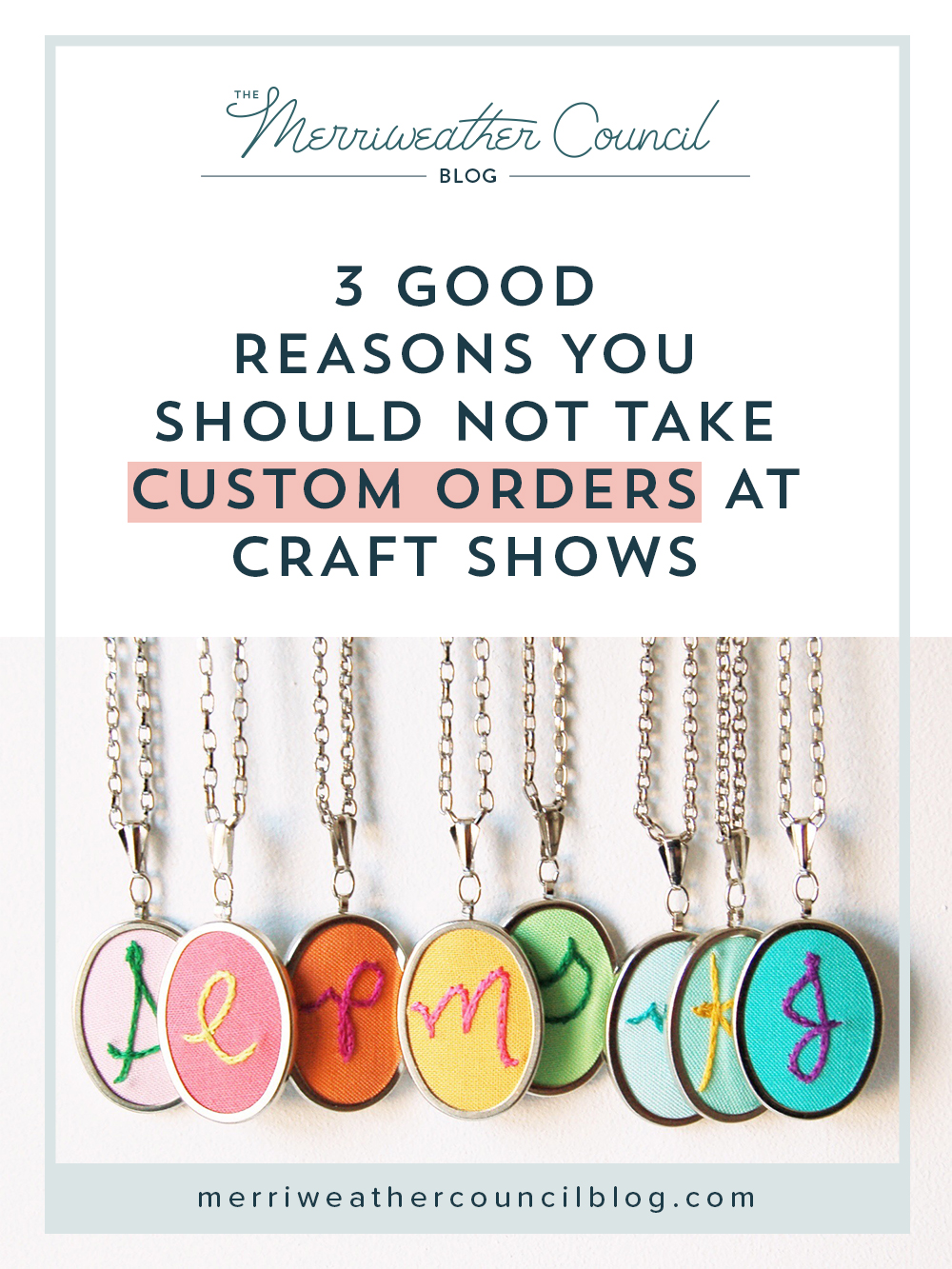 3 good reasons you should not take custom orders at craft for What craft should i do