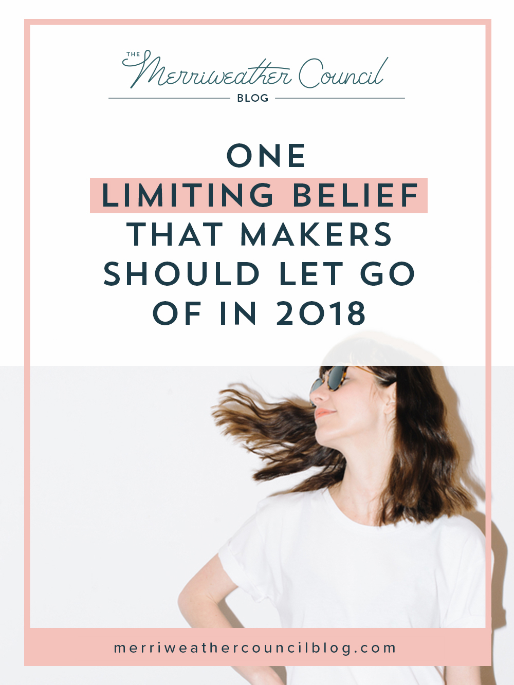 one limiting belief that makers should let go of in 2018