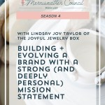 Episode 065: Building a Brand with a Strong Mission Statement