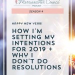 Episode 073: New Year Intentions